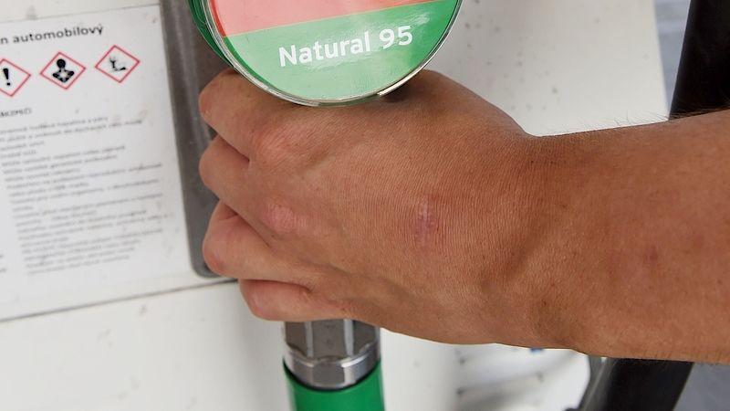 Výdejní pistole benzínu Natural 95