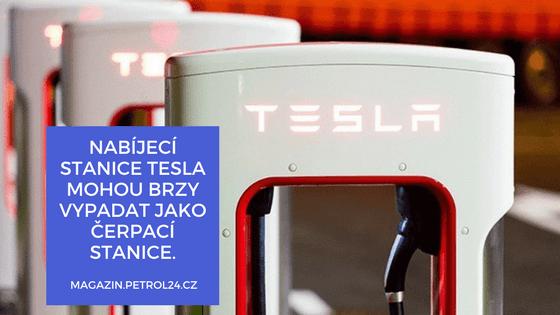 Nabíjecí stojan Tesla