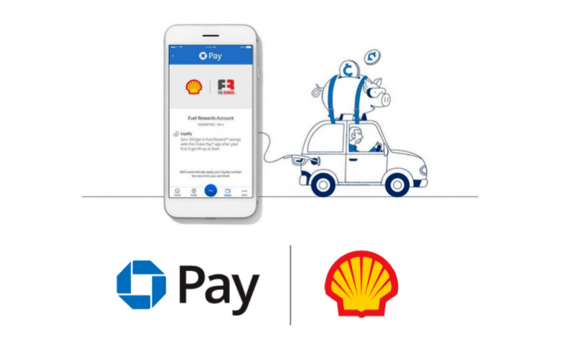 Shell Chasepay Mobile Payment on Petrol Stations