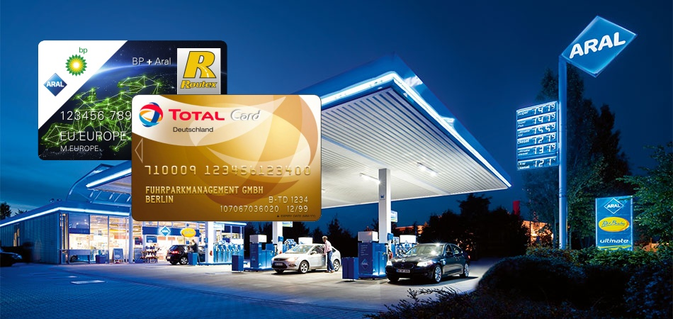 Palivová karta BP, ARAL, TOTAL na čerpací stanici ARAL